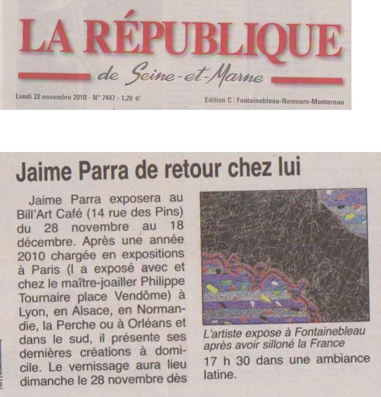 La république 22 novembre 2010